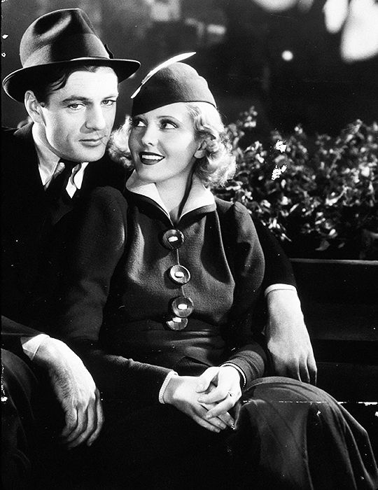 Gary Cooper and Jean Arthur in Mr. Deeds Goes to Town (1936)