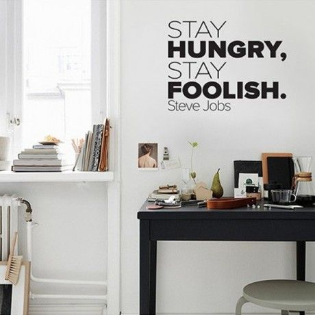 Adesivo Stay Hungry