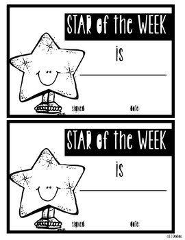 FREE Star of the Week Award