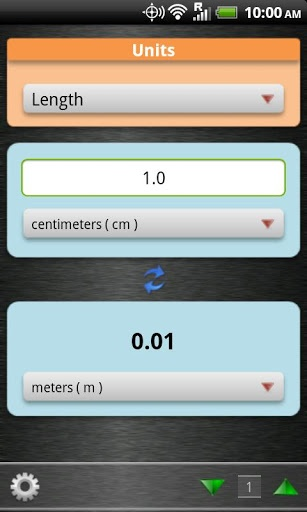 Unit Converter v1.0.3  Requirements: Android 2.1+  Overview: Unit Converter is a handy utility for students, teachers, and practitioners in engineering, physics, sciences, and technical subjects.