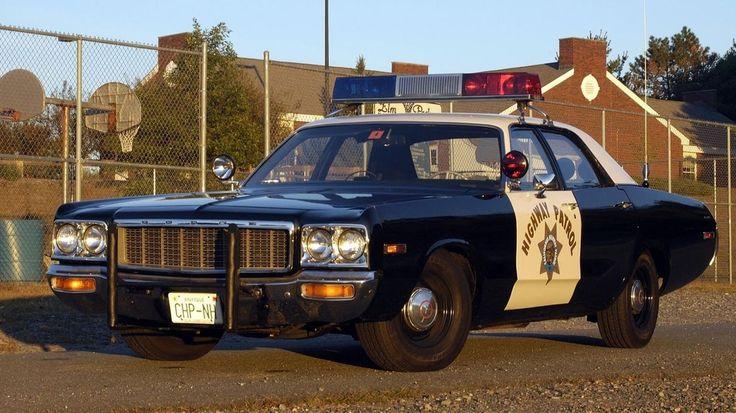 """DODGE Sedan """"Highway Patrol""""."""