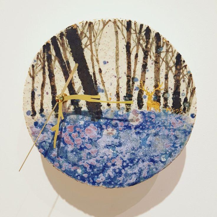 라일락숲,시계