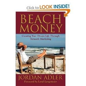 Just finished this am.  Great book!  He doesn't mention it in the book but he is with SendOutCards and in my upline!Worth Reading, Network Marketing,  Dust Jackets, Book Worth, Beach Money,  Dust Covers, Jordans Adler, Book Jackets,  Dust Wrappers