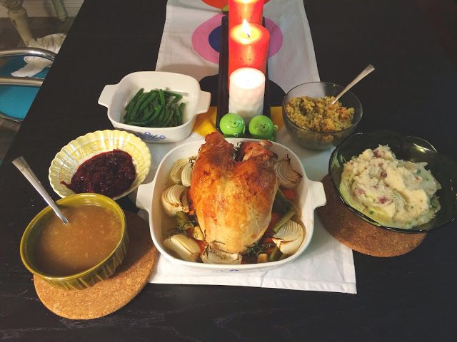 Cooking Like a Newlywed: Thanksgiving for Two