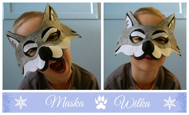 Riona: Na karnawał - maska wilka