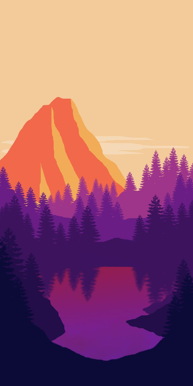 One of the firewatch inspired wallpapers I've made | Smart Phone Wallpapers #4k….