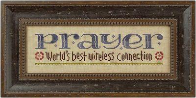 PRAYER - World's best wireless connection ~ Lizzie Kate