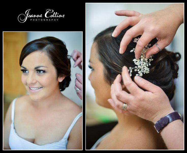 Chilham Castle Estate Wedding Photographer brides hair