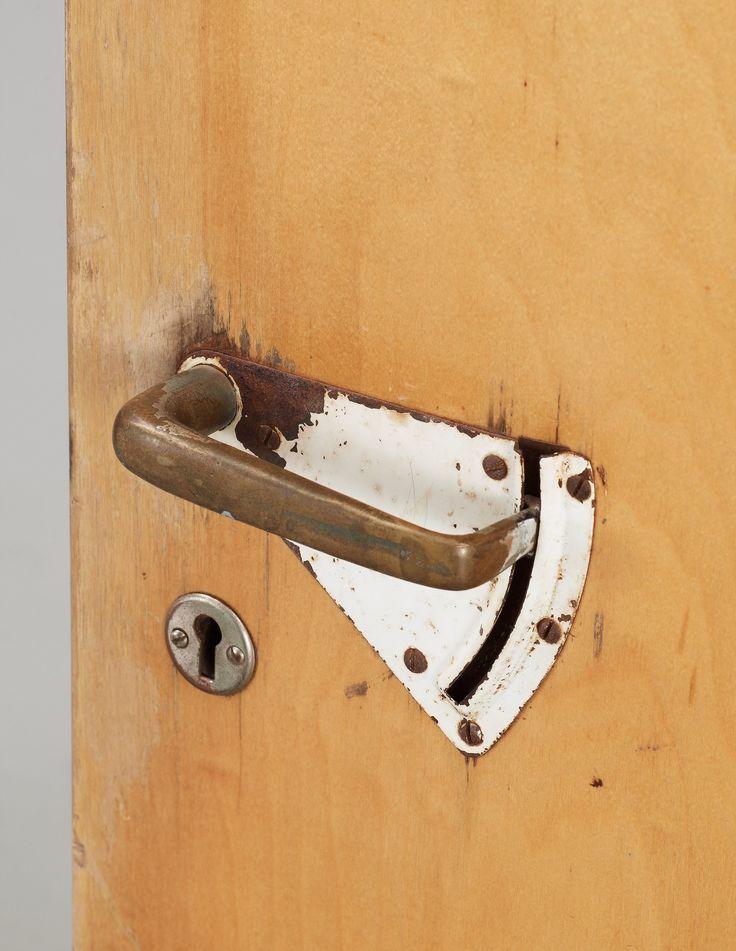 Door handle.  Paimio Sanatorium, Alvar Alto 1933.
