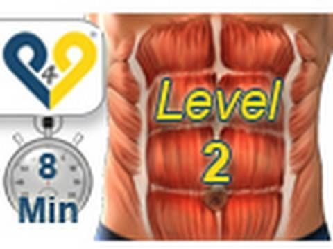 Abs workout how to have six pack - Level 2 - YouTube. I do this once everyday and its the best ab workout. Burns but seems to work.