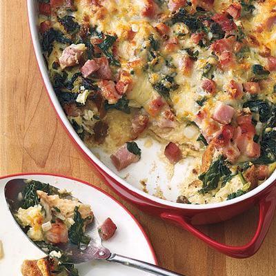 easy egg breakfast dishes - Strata Recipes For Brunch