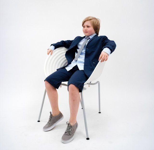 B`S PRINTED COTTON BLAZER, Dress med shorts, Blazer og shorts, dress til tenåringer, blazer til ungdom, dress til 17. mai til ungdom, dress til konfirmasjon, wkblz0069 | Ask'n Foyn