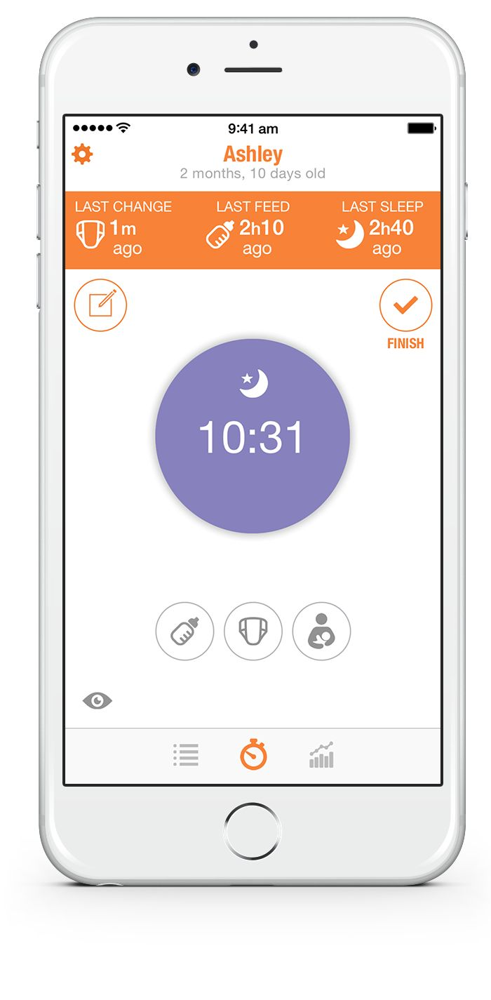 BabyTime – A completely new baby tracking experience. Love this new app! It's easy to use and tugs at my stats-lovin' heart strings!