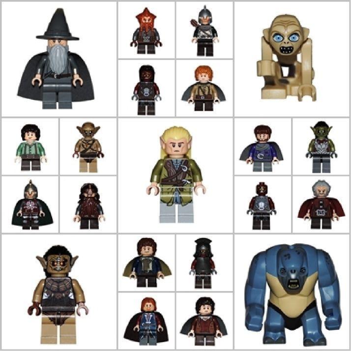 LEGO®  Herr der Ringe Hobbit Figur nach Wahl Gandalf Lord of the Ring Frodo NEU