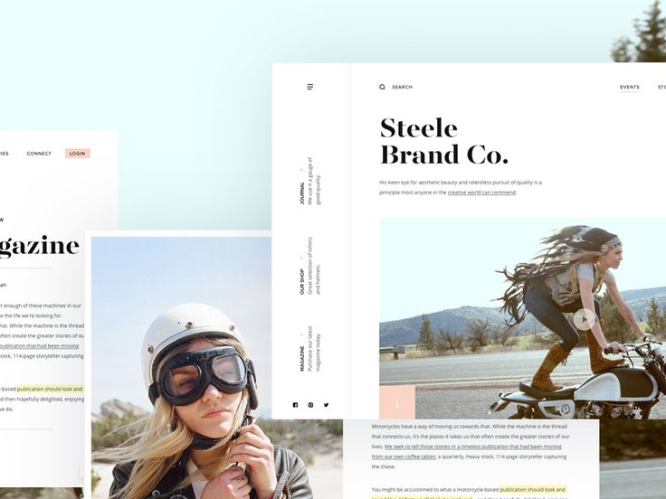 Steele Brand Co. by Andrew Baygulov - Dribbble