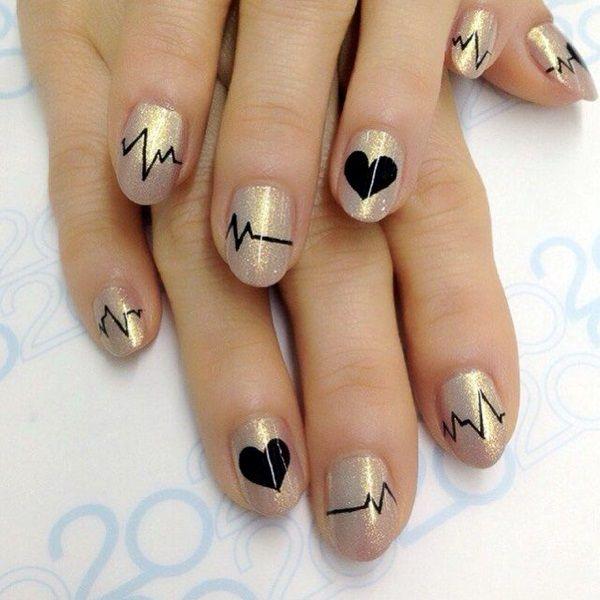 Preciosos Diseños de Uñas para San Valentín para difundir Amor - Manicure