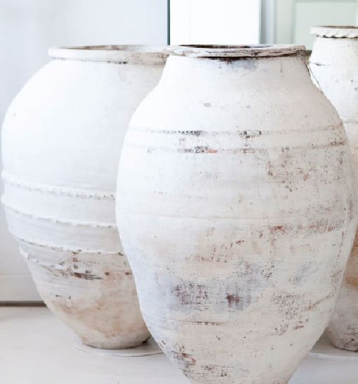 love these, going to paint my pots like this but in grey.                                                                                                                                                                                 More