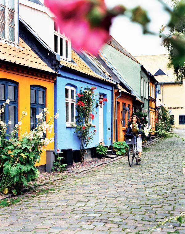 Dinamarca-Mollestien Lane, Aarhus