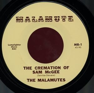 THE MALAMUTES.THE CREMATION OF SAM McGEE/LARRY BECK.THE SPELL OF THE YUKON.45   eBay
