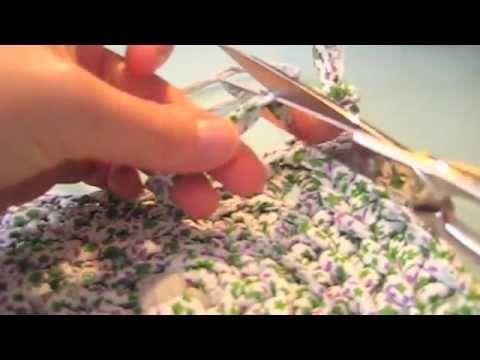 25 best ideas about alfombra de trapillo rectangular on - Alfombras ganchillo trapillo ...