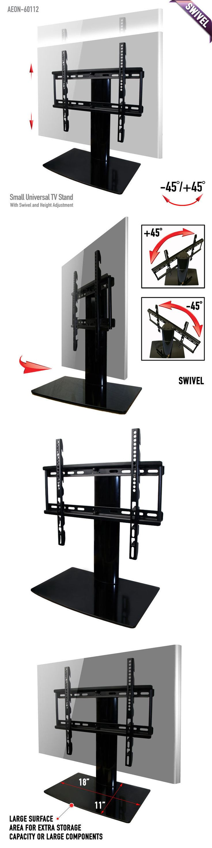 TV Mounts and Brackets: Aeon Universal Tv Stand W Swivel And For 23 32 42 46 Inch Led Lcd Tvs -> BUY IT NOW ONLY: $42.99 on eBay!