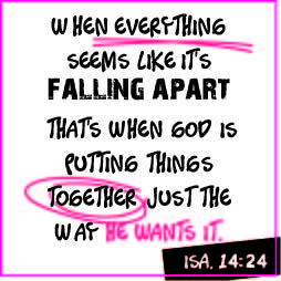 Falling apart?
