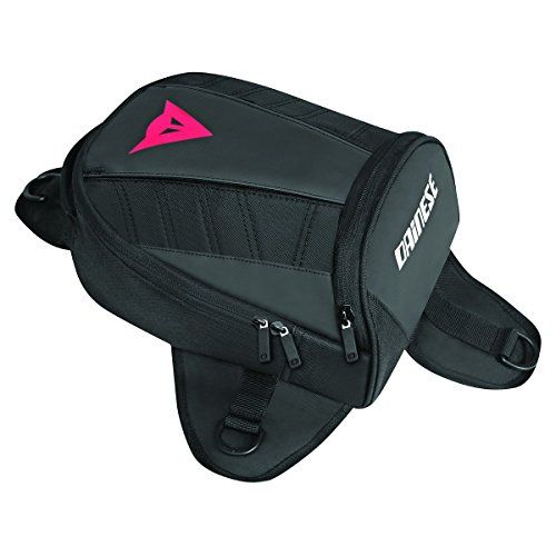 Dainese D-Tanker Magnetic Motorcycle Mini Tank Bag Stealth Black