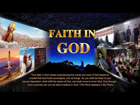 """New gospel movie """"Faith in God"""".Source from the church of Almighty God.  Yu Congguang is a gospel preacher from the Church of Almighty God. Because he was pursued by the CCP government while preaching the gospel, he fled to the mountain and got help from Zheng Xun, a co-worker of the local house church. Both of them felt like old friends at the first meeting. Zheng Xun took Yu Congguang to the thatched shack where he and his co-workers attended meetings. There, Zheng Xun's co-workers had a d"""