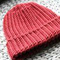 Beginner Ribbed Crochet Hat Pattern (Men's / Unisex)
