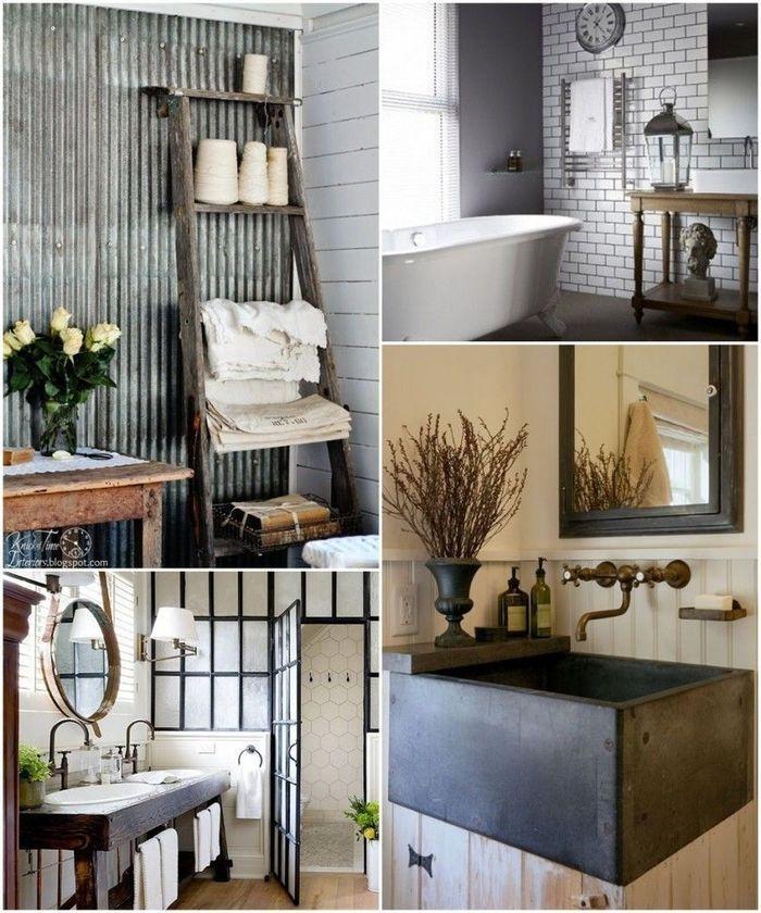 Ванные в рустикальном стиле – Красивые квартиры