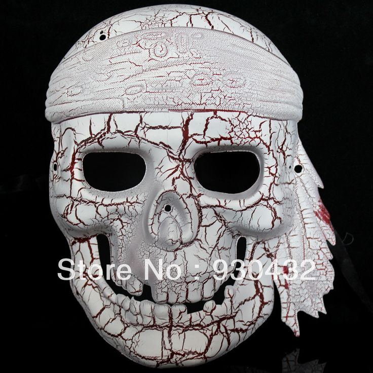 aliexpresscom buy free shipping pirate skulls crack mask mask of halloween party mask - Halloween Feis