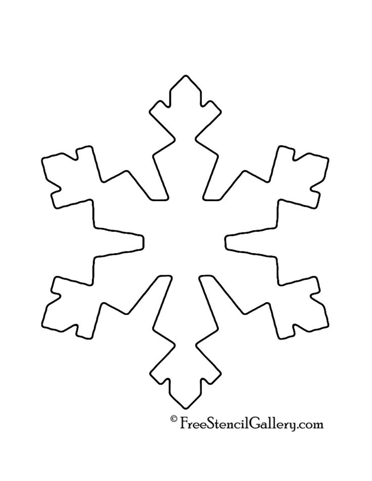 image result for snowflake stencil