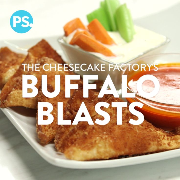 While the restaurant is best known for making decadent and delicious cheesecakes, The Cheesecake Factory is no one-trick pony. Buffalo Blasts are a prime example of where else the menu excels; these deep-fried wontons stuffed with fiery buffalo chicken and creamy cheese are a must make for your next party.