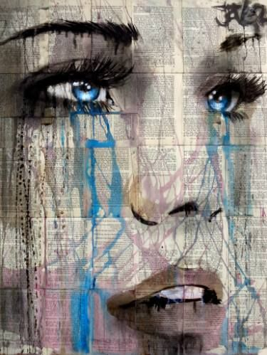 "Saatchi Art Artist Loui Jover; Drawing, ""a thousand times"" #art"