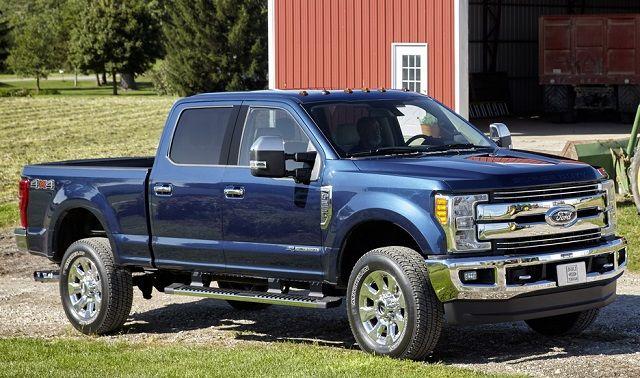 2017 Ford Super Duty Front View Trucks Diesel Trucks Ford Super Duty