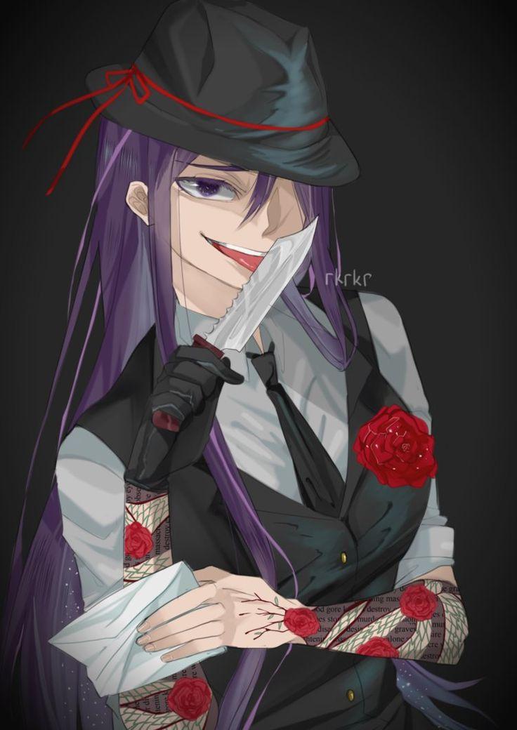 Mafia DDLC: Blackmailer Yuri by rrkkrkrr.deviantart.com on @DeviantArt