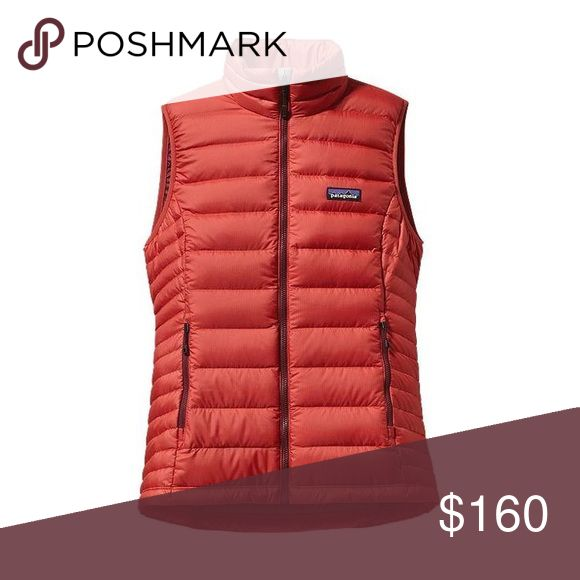 BRAND NEW! Patagonia down sweater vest - sumac red Never Worn! The Womens Patagonia Down Sweater Vest provides ultralight, highly compressible down insulation. Open to transacting via PP. Patagonia Jackets & Coats Vests
