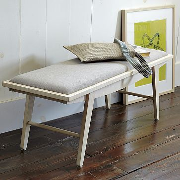 I love the Crescent Bench on westelm.com $299