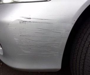 how to repair plastic bumper scratches cars diy stuff. Black Bedroom Furniture Sets. Home Design Ideas