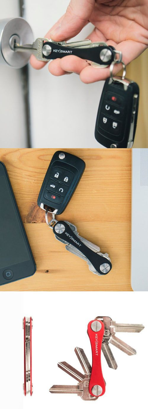 Tired Of Bulky And Noisy Keys Stabbing You When You Sit Down? The Minimalist KeySmart Comes To The Rescue.
