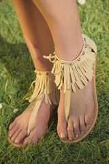 Stone Lined Gladiator Sandals – Gypsy Outfitters - Boho Luxe Boutique