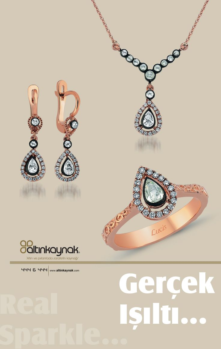 #Gerçek #ışıltı #Elmas #Takım #Set #Yüzük #Kolye #Küpe #Real #Sparkle #Rough Diamond #Ring #Pendant #Earling