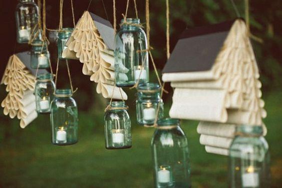 mariage, wedding, decoration book livre jars