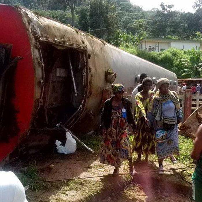 Le bilan de la catastrophe ferroviaire survenue sur la liaison Yaoundé-Douala vendredi s'est alourdi à 79 morts et environ 500 blessés après la découverte de