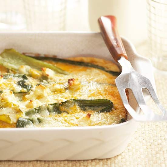 The poblano chiles and cotija cheese in this rich and creamy Mexican-style casserole earn a gold star for authenticity.
