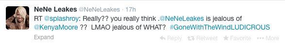 NeNe Leakes Publishes RHOA Blog On Twitter; Blames Bravo And Kenya Moore For Drama!