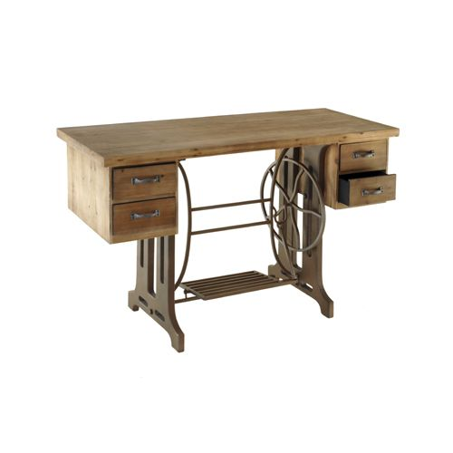 Wooden #table #SewingMachine #ClassicalStyle