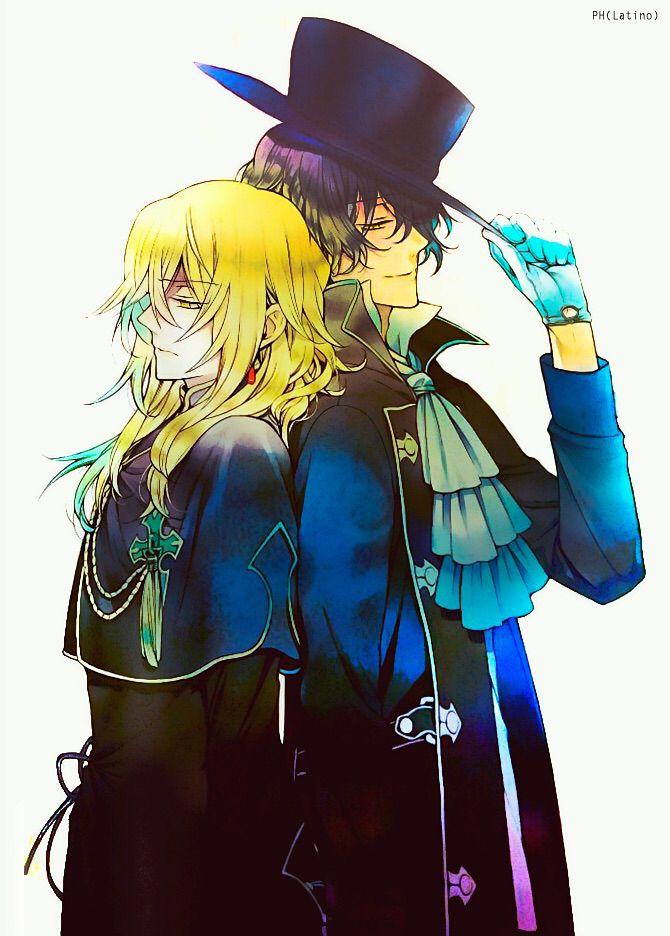 Pandora Hearts ~ Gil and Vincent Nightray