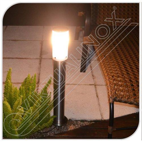 Poste Balizador em Aço Inox Escovado 100cm - LightInox