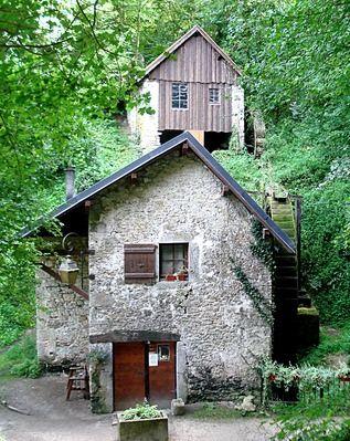 Moulins de Chanaz, Savoie. A découvrir avec les @GuidesGPPS www.gpps.fr